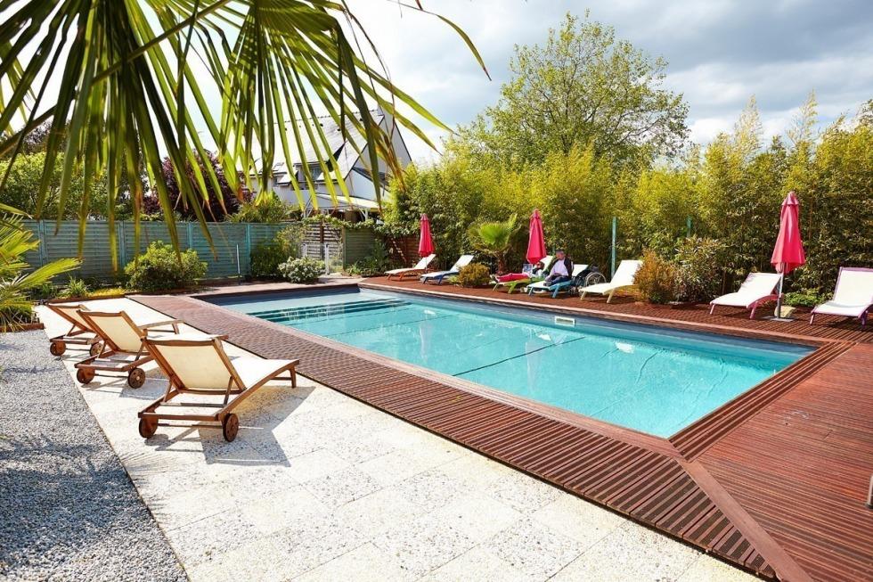 H tel calme et reposant dans le morbihan carnac en bretagne for Hotel quiberon piscine