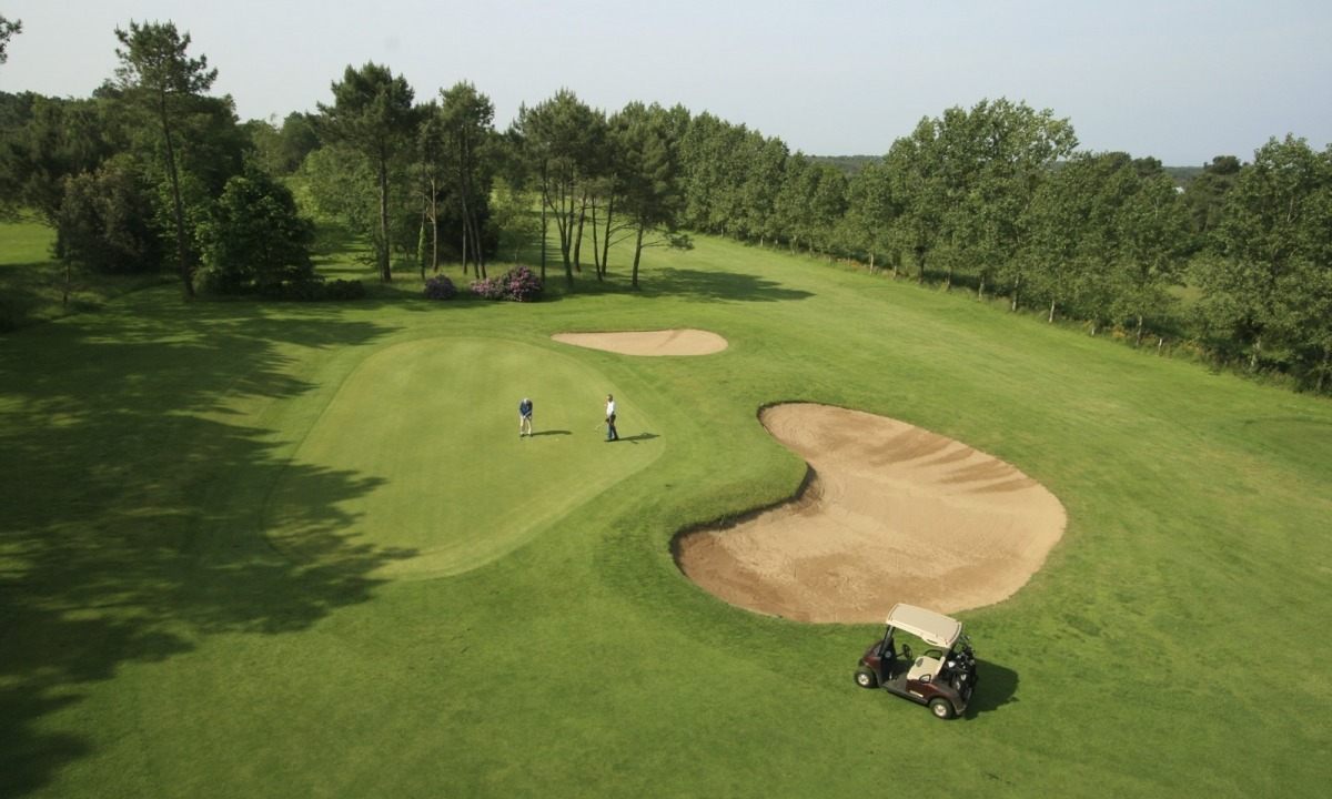 Der Golfplatz Saint-Laurent